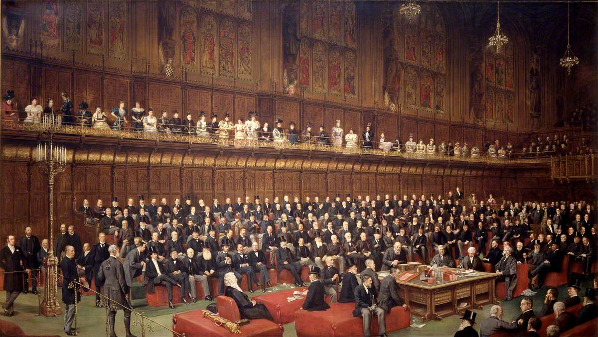 The Home Rule Debate in House of Lords, 1893, Gladstone's Second Bill Rejected, Marquess of Salisbury Speaking