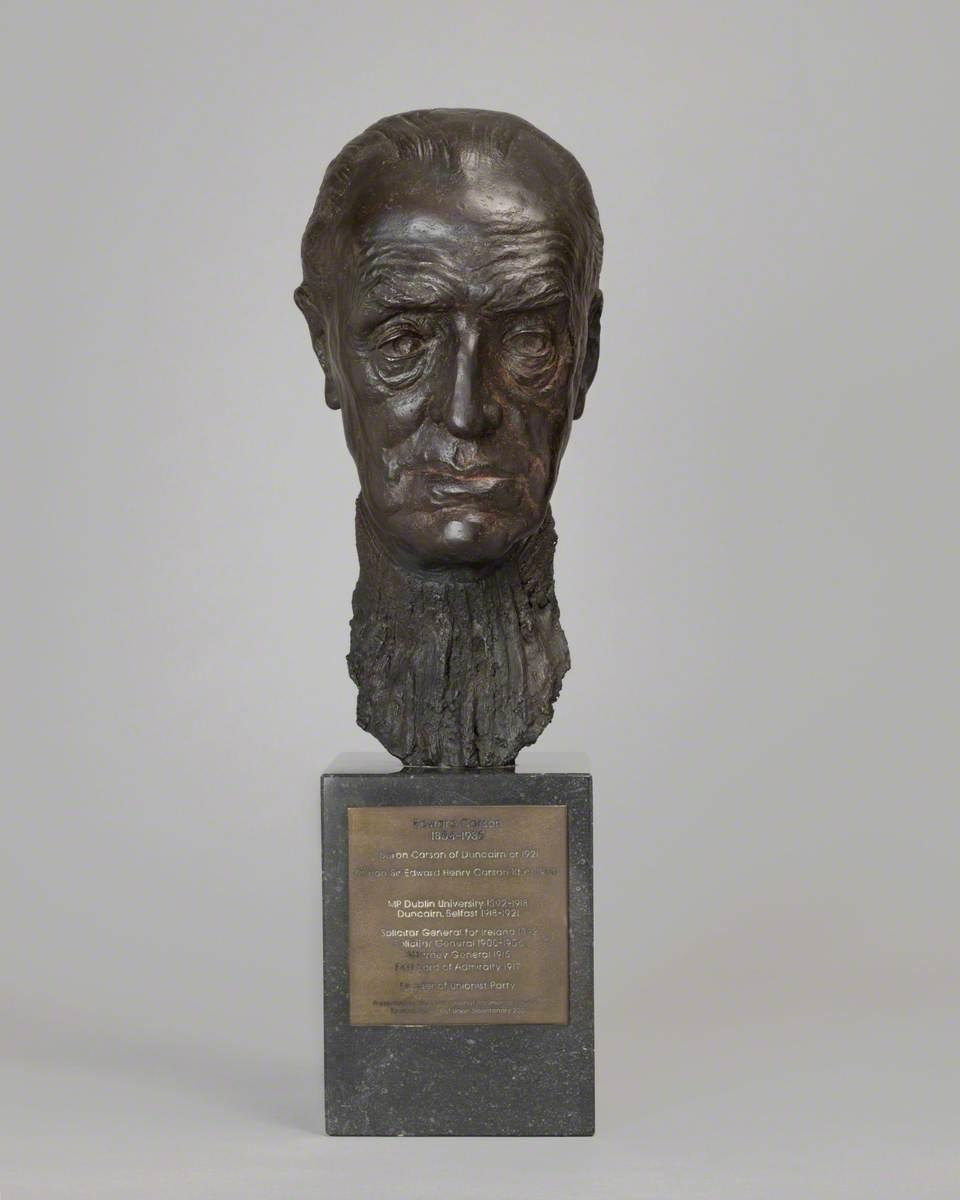 Sir Edward Carson (1854–1935), Lord Carson of Duncairn