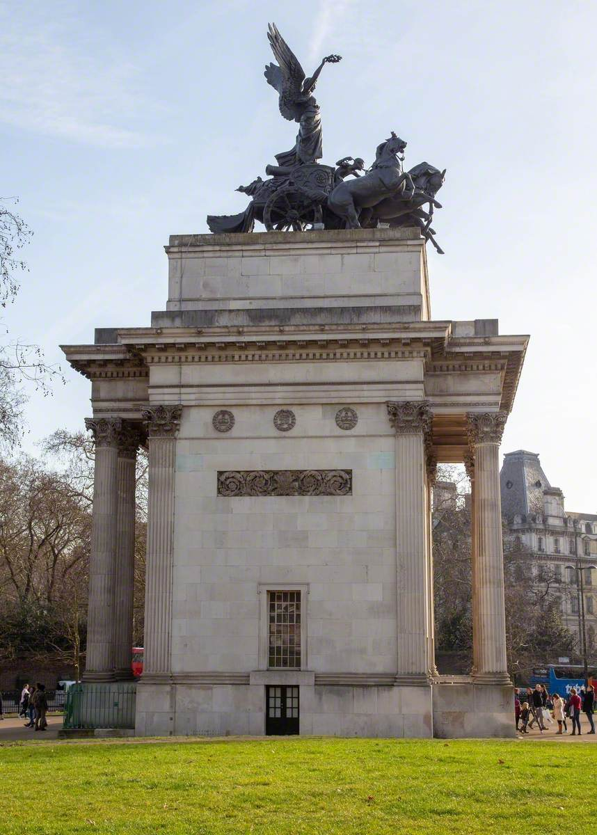 Wellington Arch and Quadriga