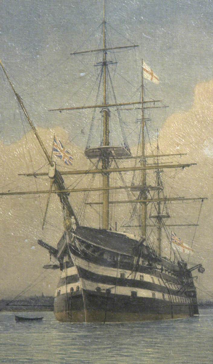 HMS 'Victory' Afloat