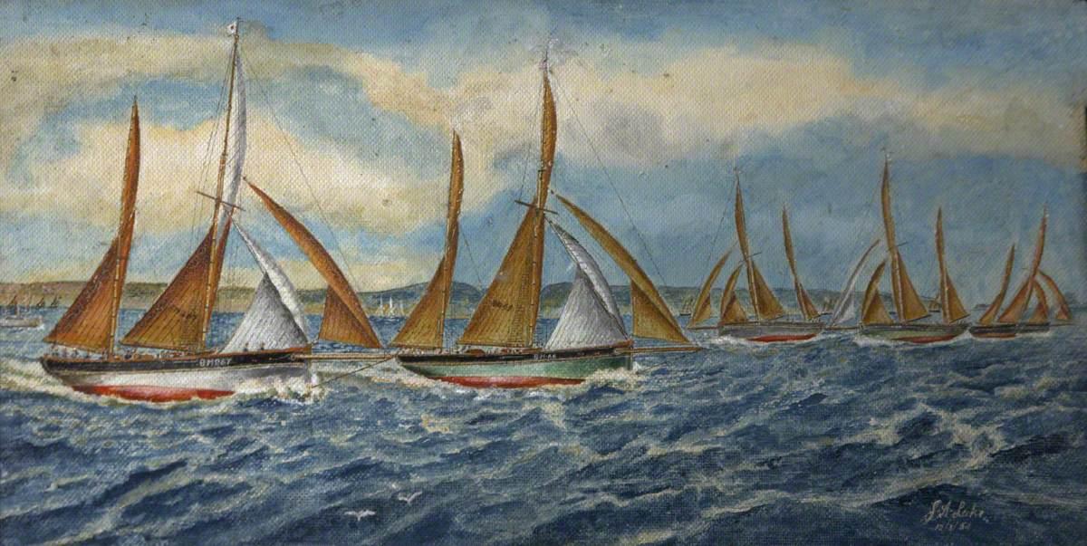 1923 Regatta – The Winning Mark to Windward