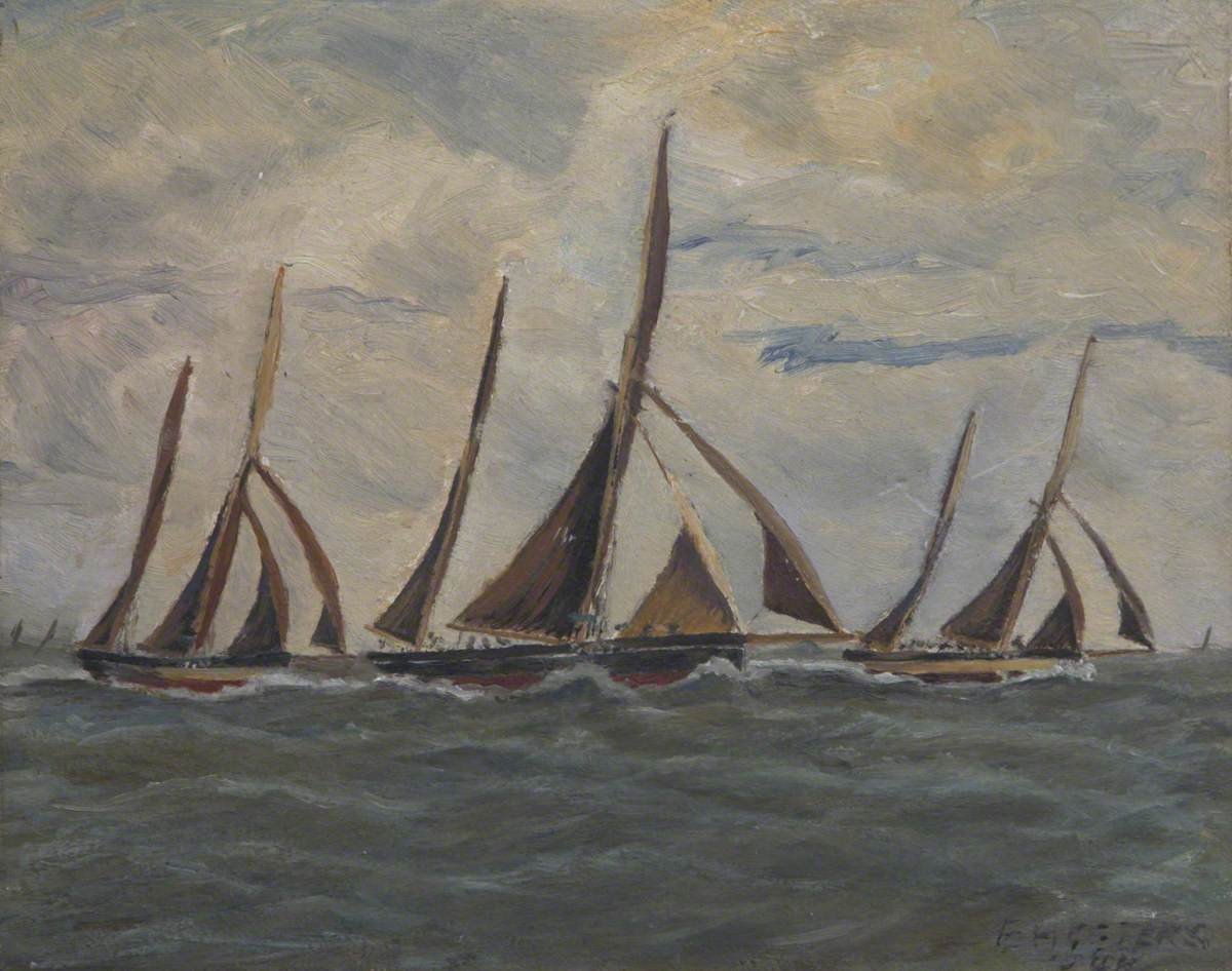 'Excel' in 1897 Regatta