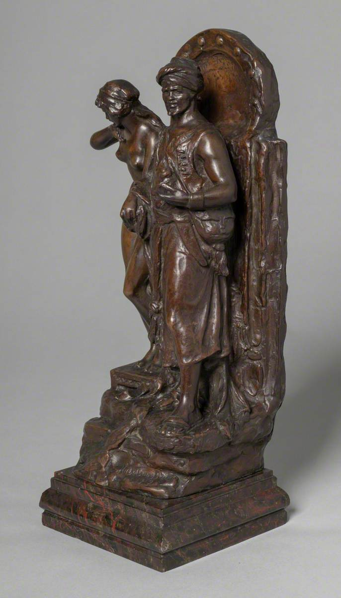Eastern Warrior with Slave Girl