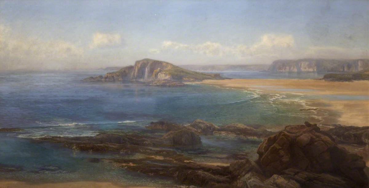 Bantham Sands and the Mouth of the Avon