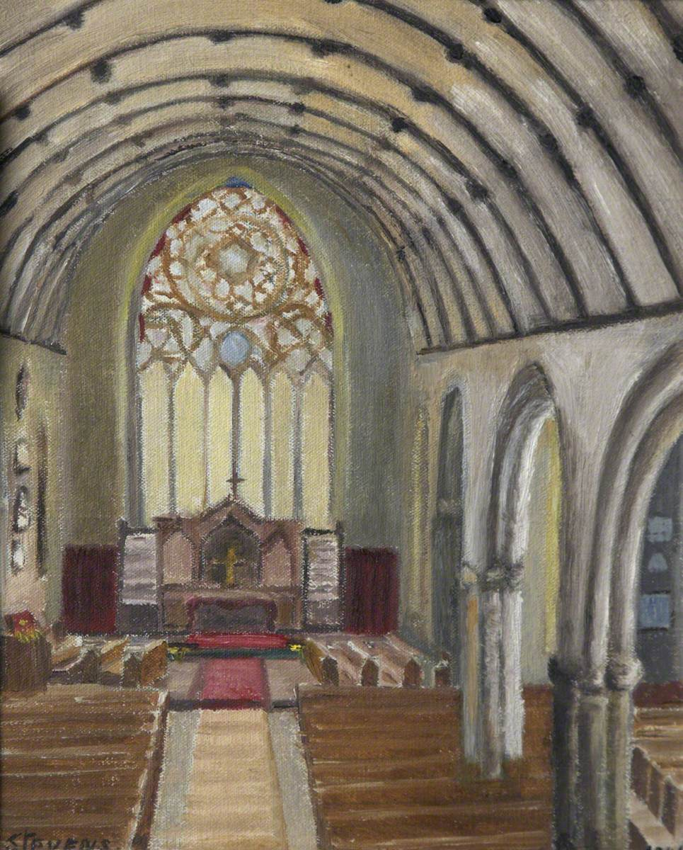 Interior of Charles Church, Plymouth
