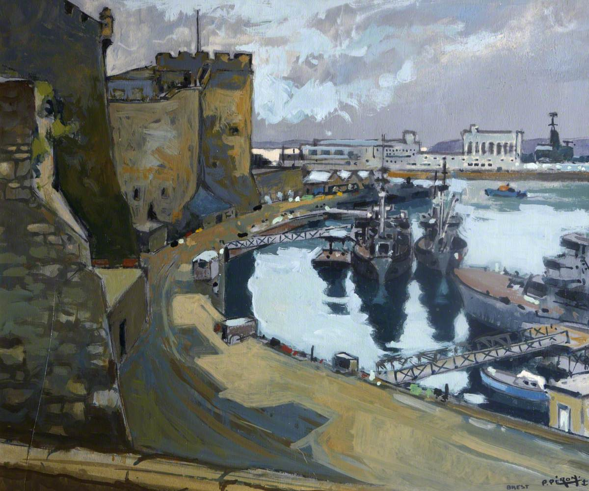 View of Brest Harbour