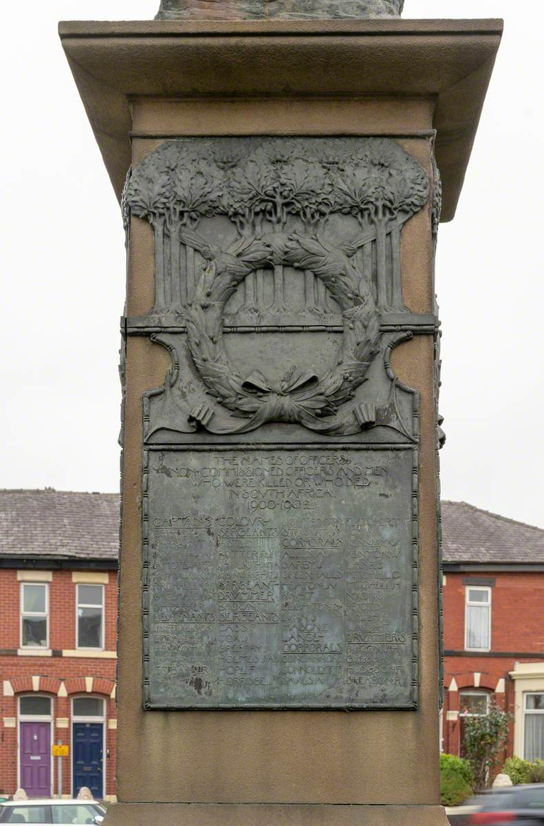 Lancashire Fusiliers South African War Memorial