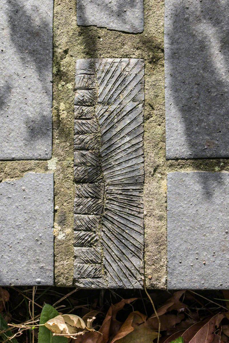 Caterpillar, Woodlouse and Wall Carvings