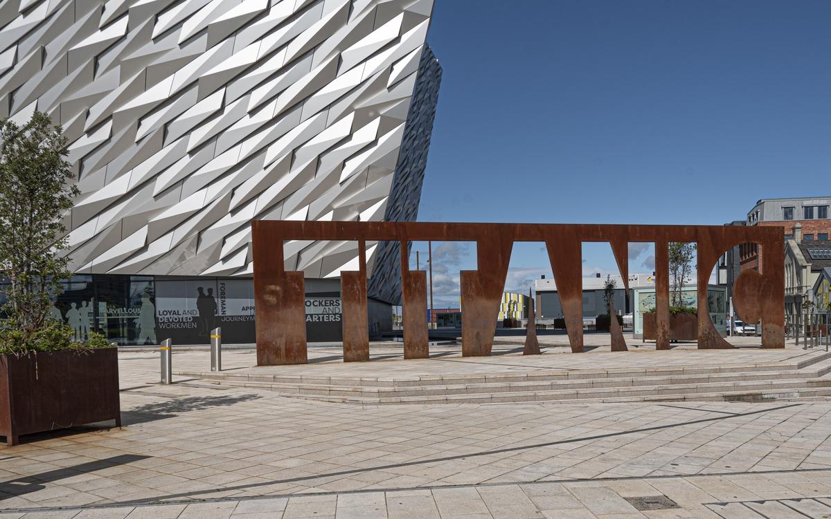 Titanic Sign