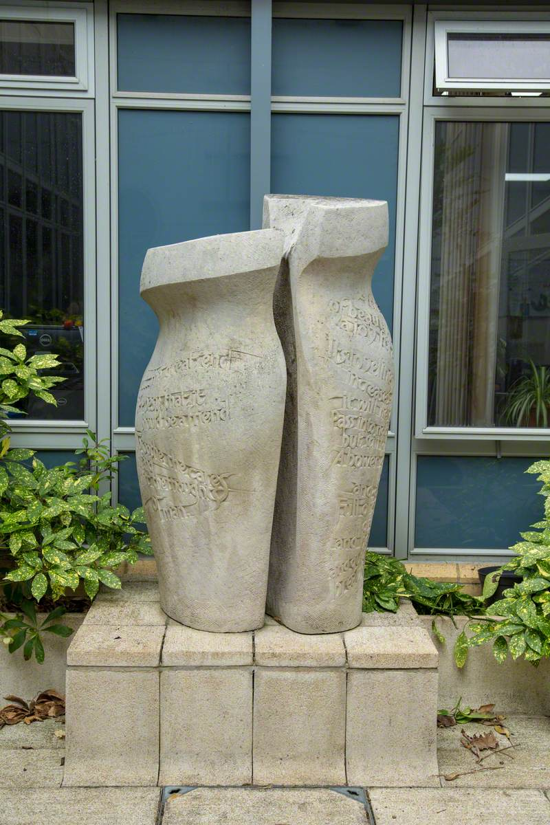 Grecian Urn: Two Vertical Forms