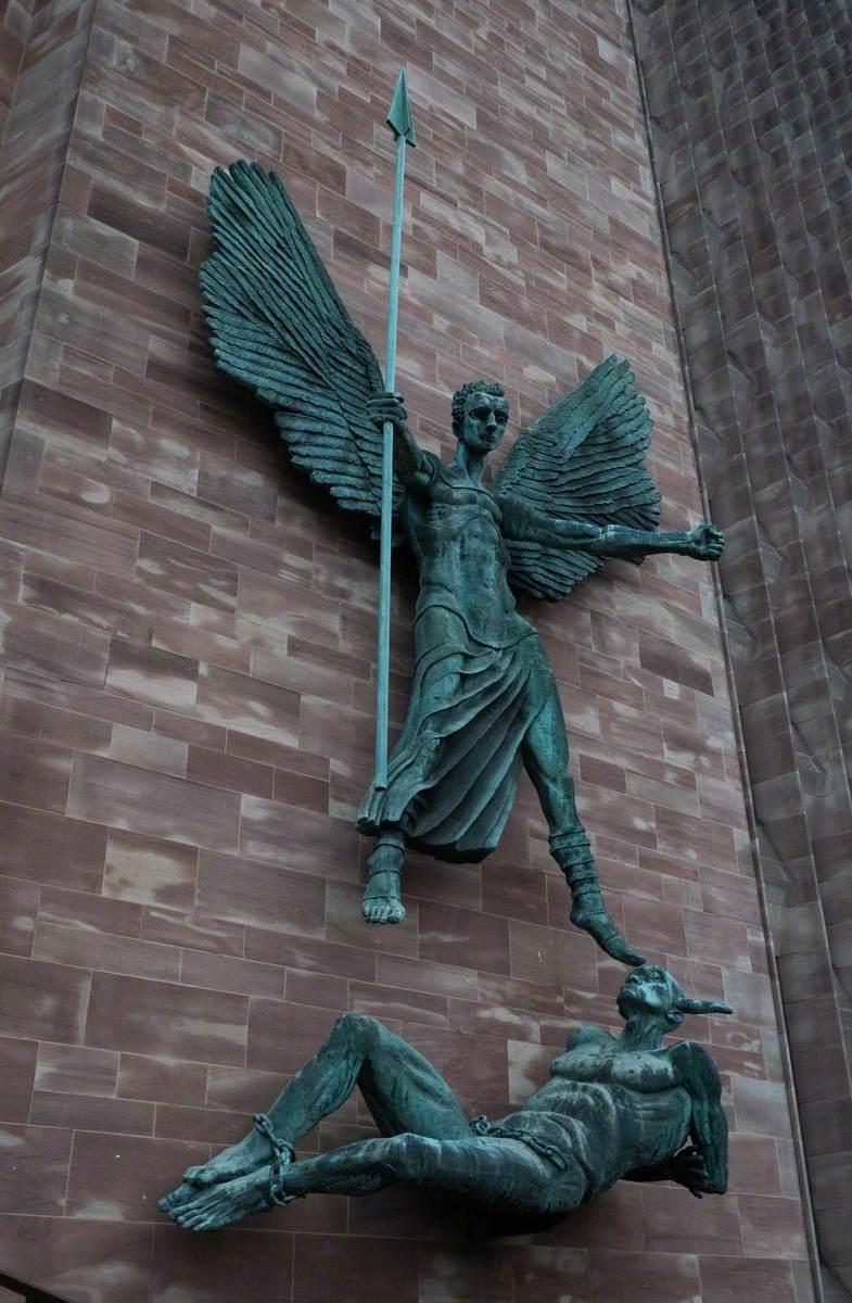 Saint Michael and the Devil