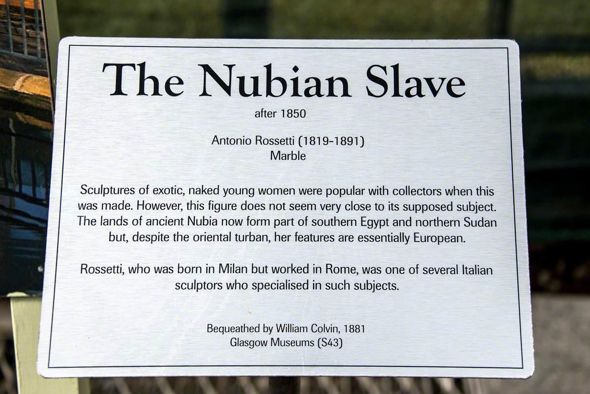 The Nubian Slave