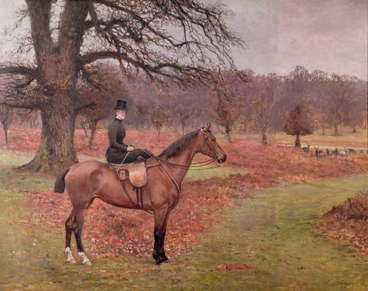 Lady Mabel Selina Bridgeman (1855–1933)