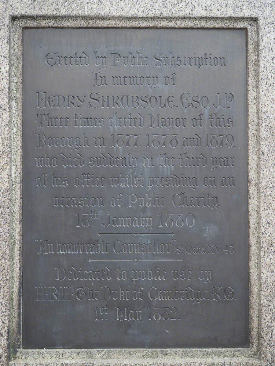 The Shrubsole Memorial