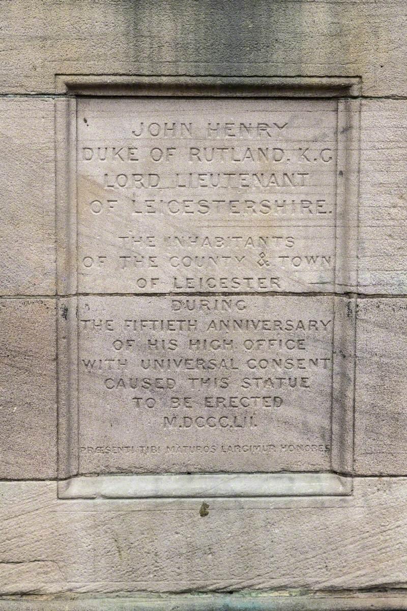 John Henry Manners (1778–1857), 5th Duke of Rutland, KG