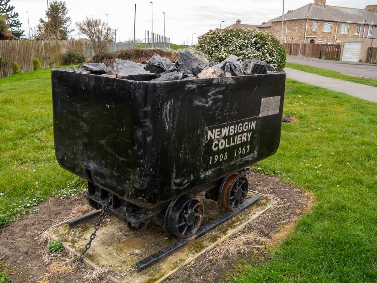 Newbiggin Colliery Truck
