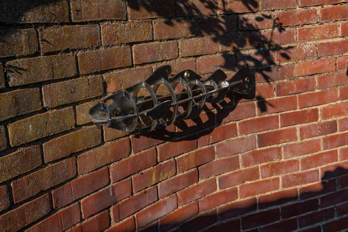 Skeletal Fish (Lowestoft Scores Trail) and Heritage Trail
