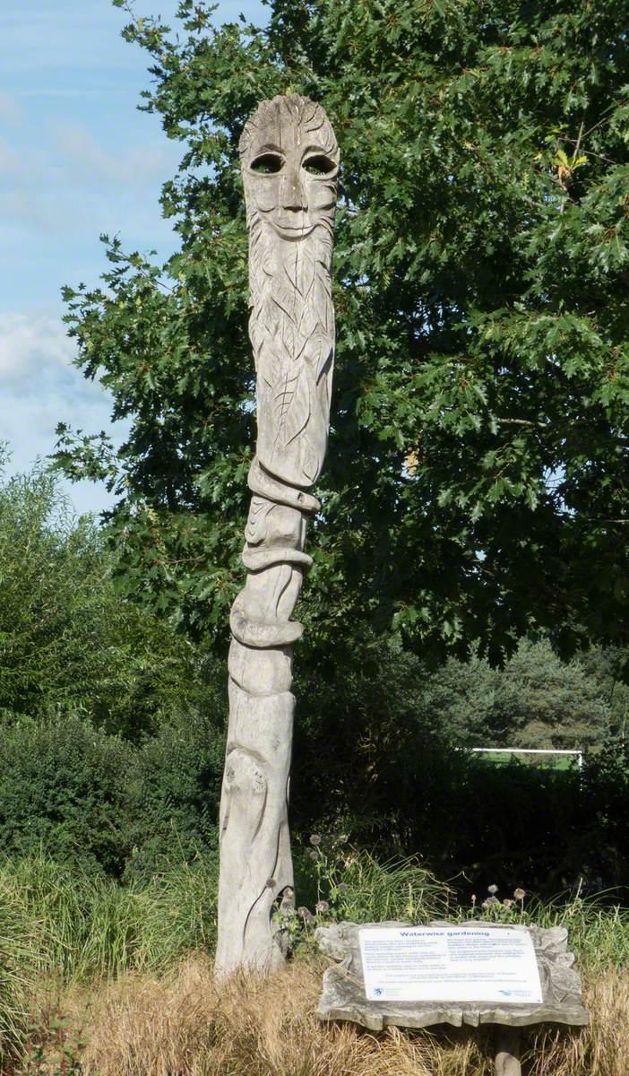 Sculpted Pole