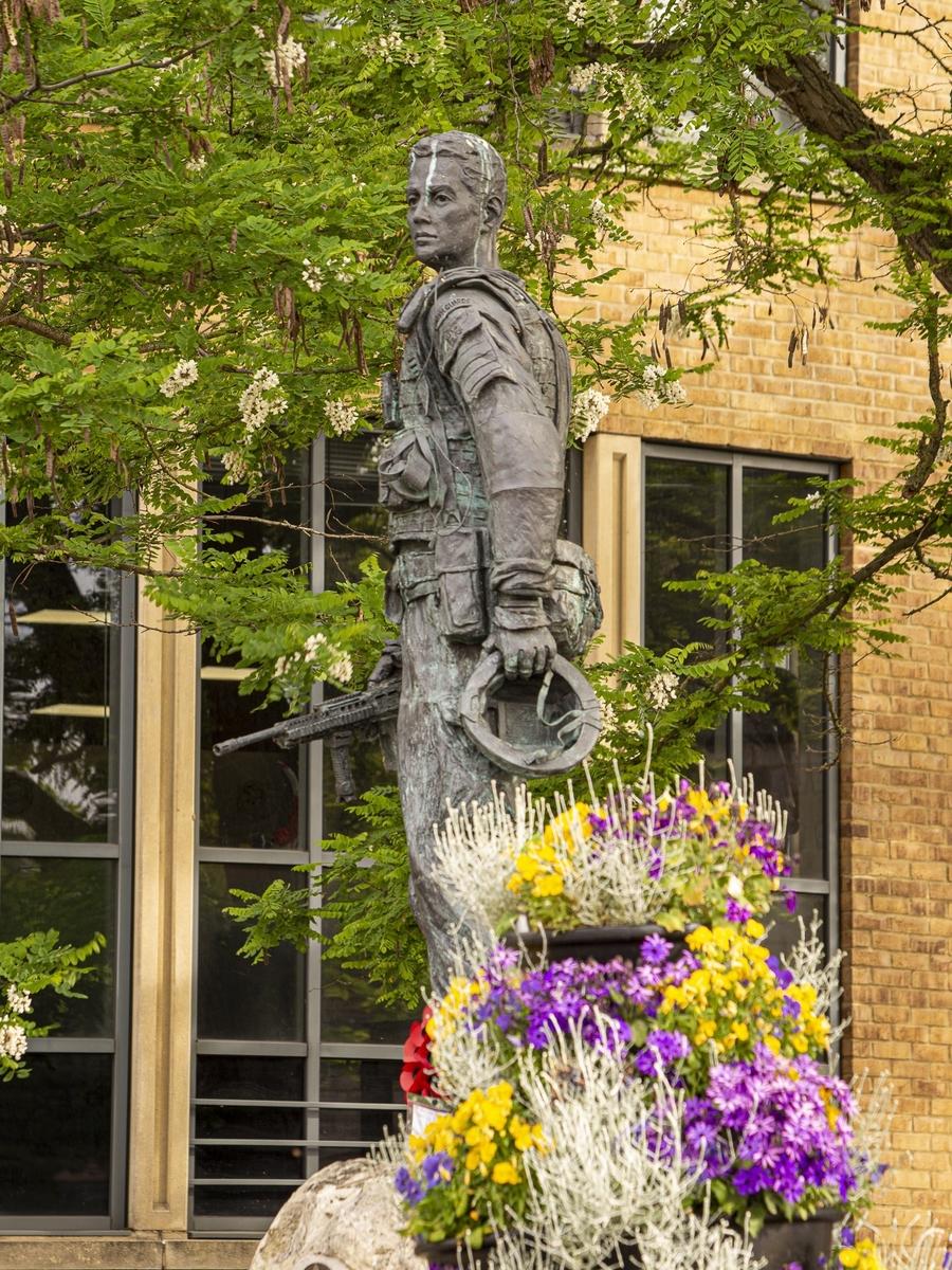Soldier's Statue