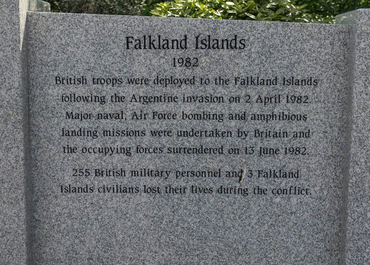 Memorial to the First and Second World Wars