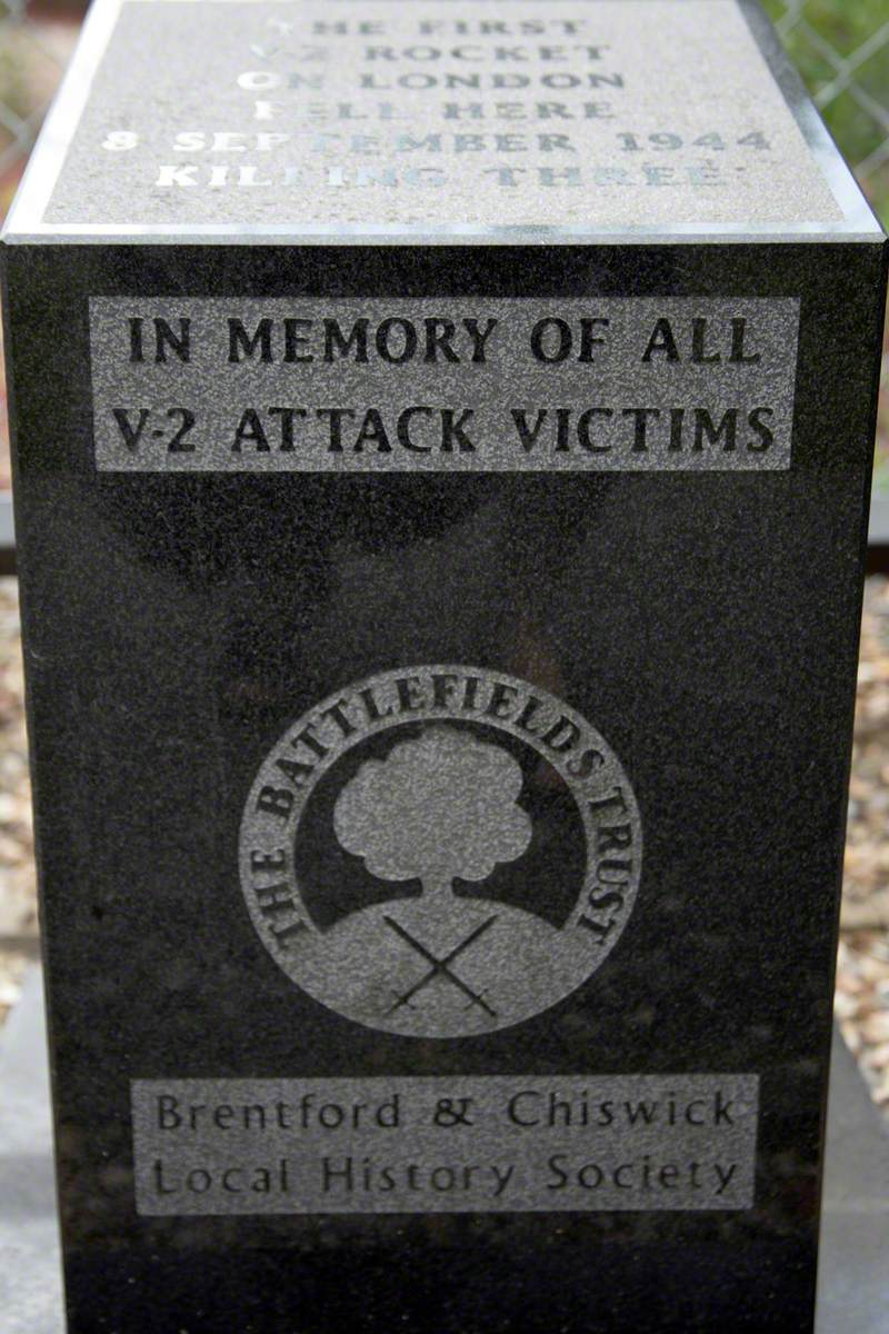 V2 Rocket Memorial