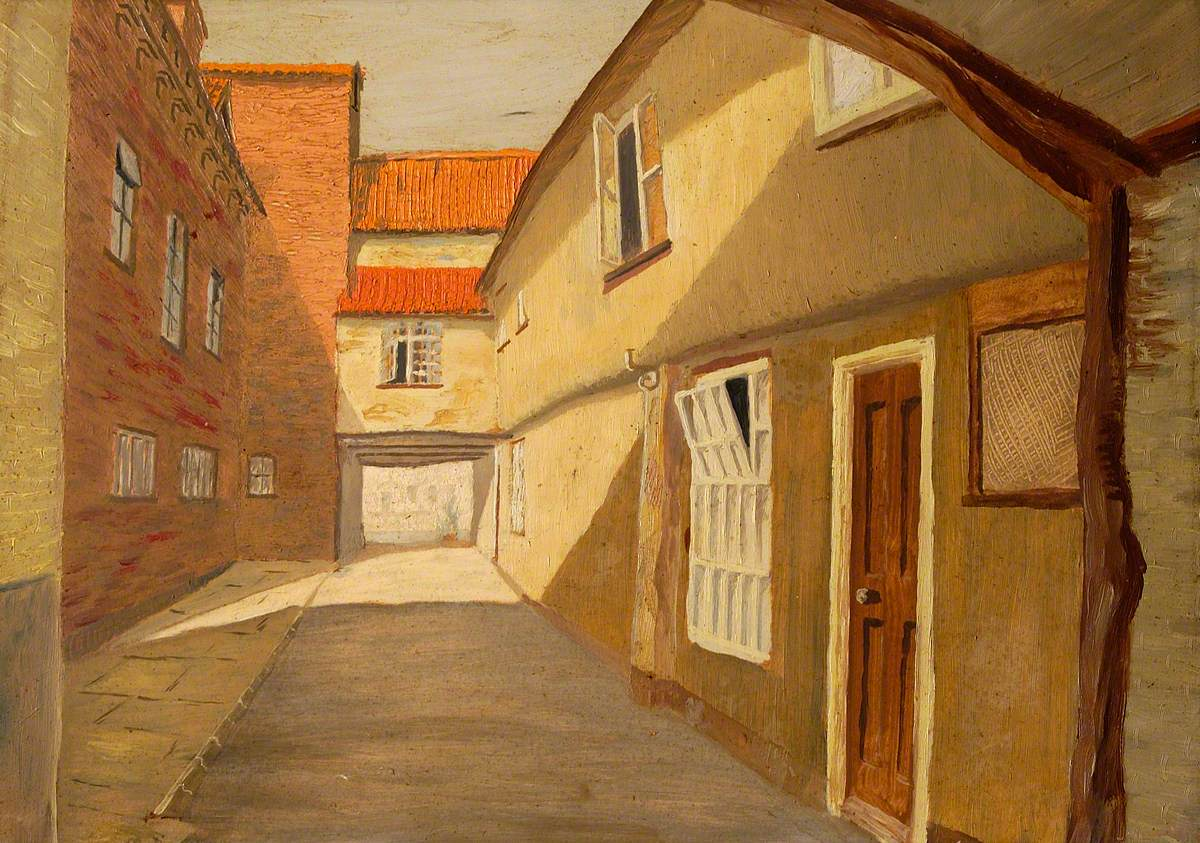 'The Falcon Inn' Yard, Beccles, Suffolk