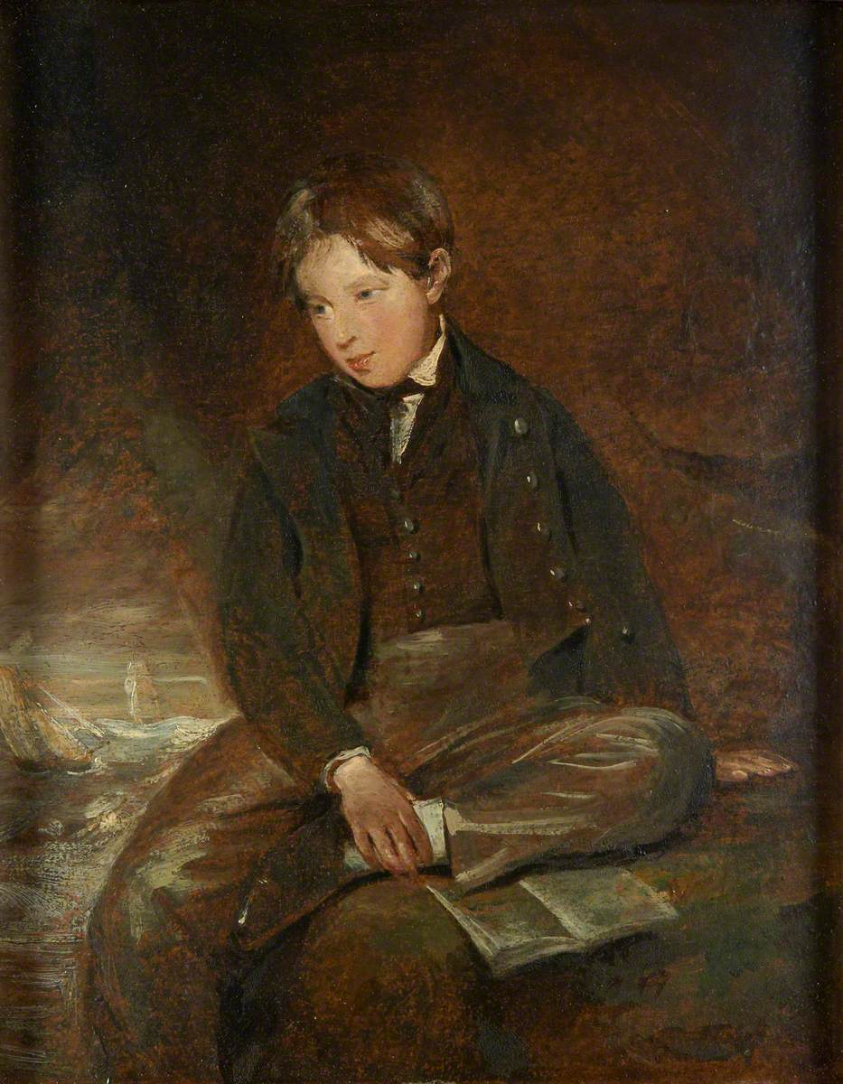 Portrait of Second Son, Charles Golding