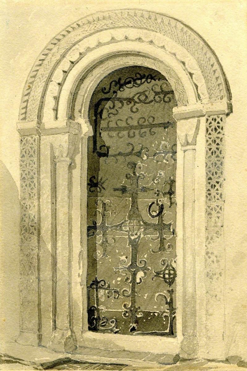 Norman Doorway, Haddiscoe Church, Norfolk