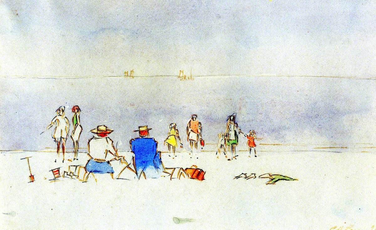Beach Scene, Suffolk