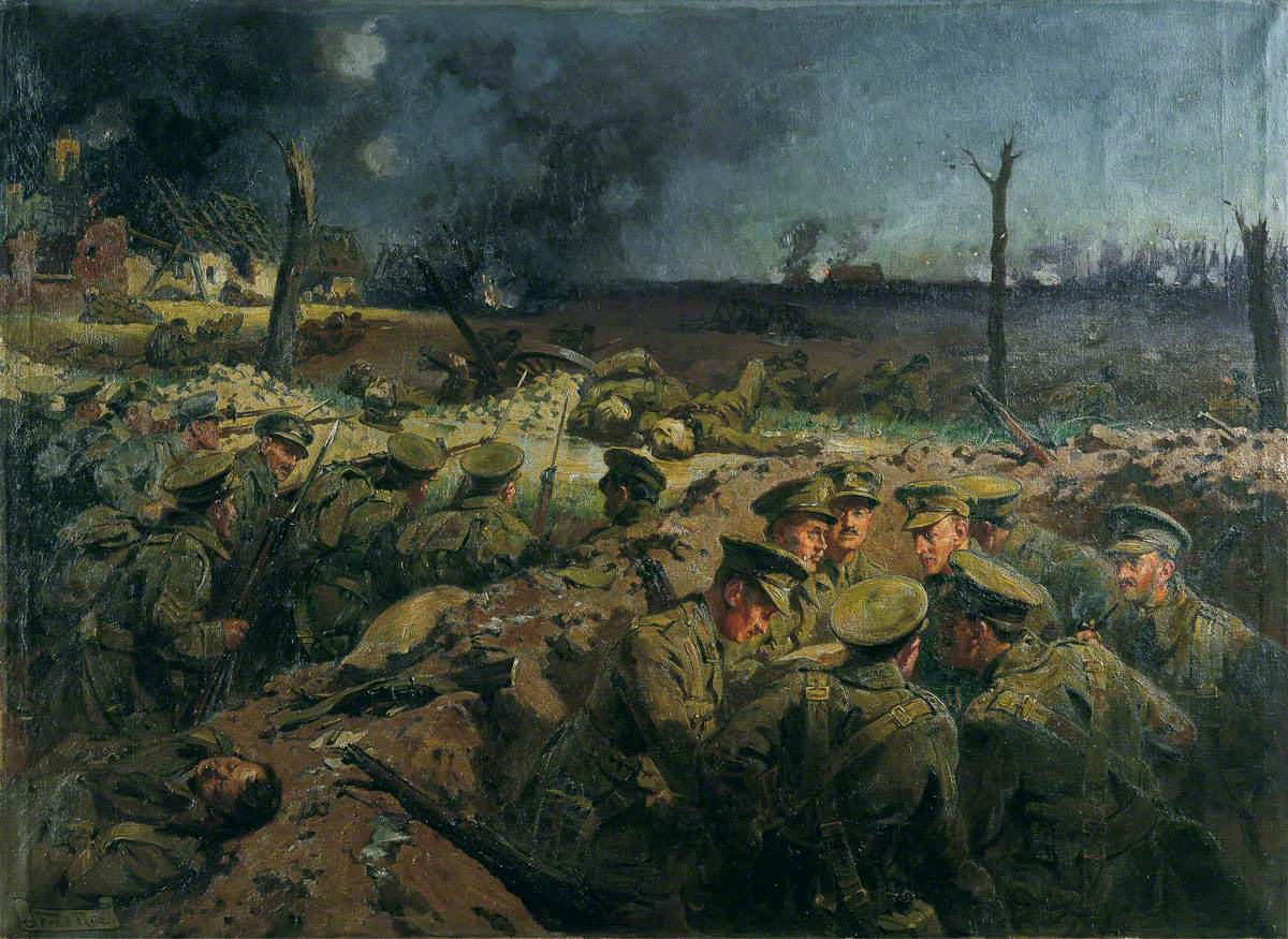 4th Suffolks at Neuve Chapelle, France