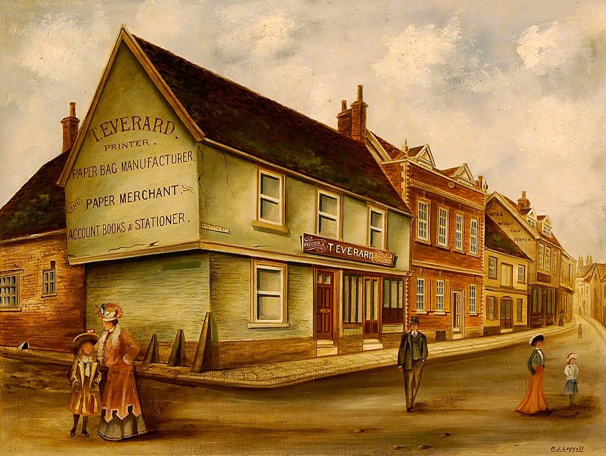 St Peter's Street, Ipswich