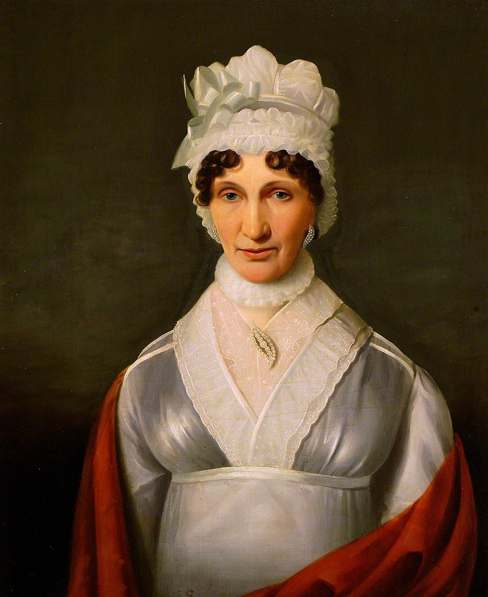 Portrait of a Lady in Lace Cap