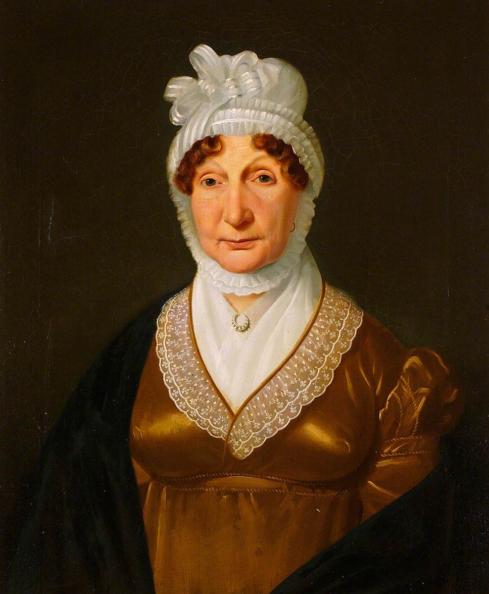 Portrait of a Lady in a Lace Cap