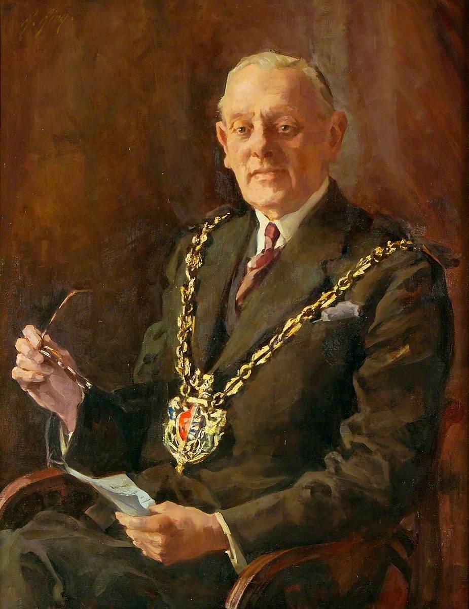 Alderman Cyril Catchpole
