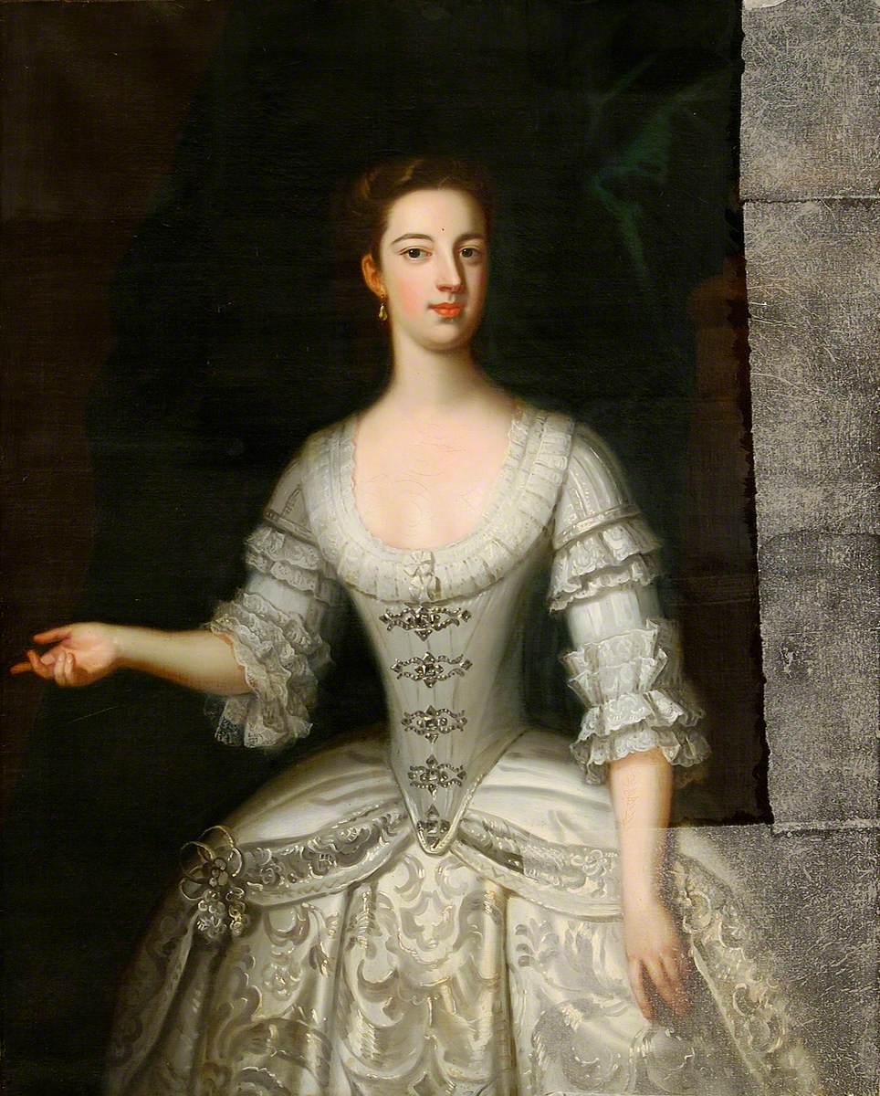 Lady Barbara Herbert, Mrs D. North