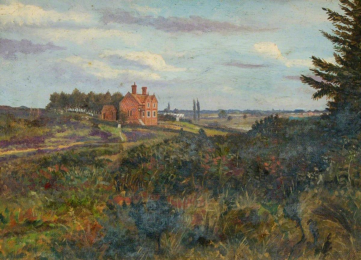 Manor House in a Landscape