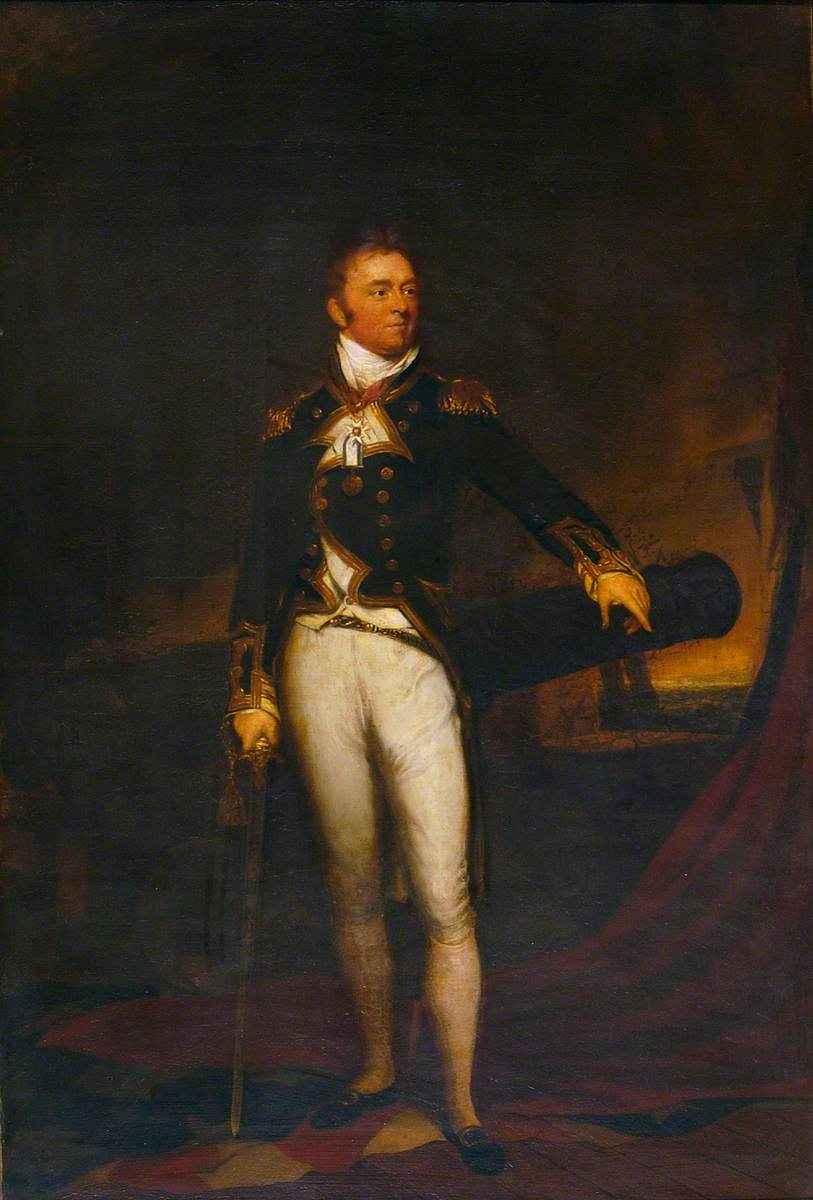 Admiral Sir P. Bowes Vere Broke, Bt (1776–1840)