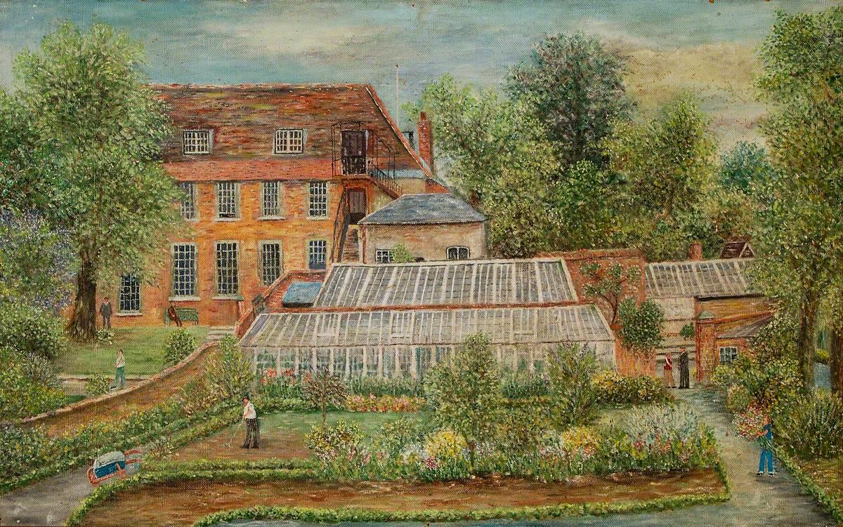 St Audry's Hospital Garden, Woodbridge, Suffolk