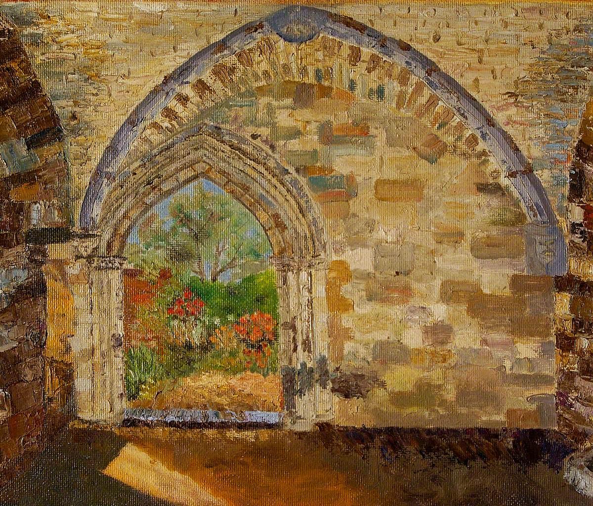St Audry's Hospital Chapel Entrance, Woodbridge, Suffolk