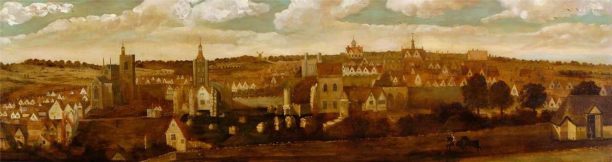 East Prospect of Bury St Edmunds, Suffolk