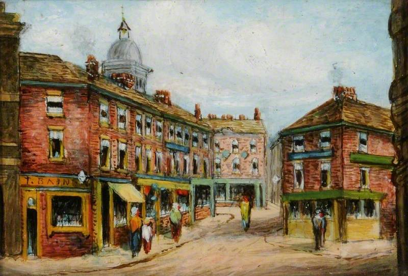 Corner of Fargate and Pinstone Street, Sheffield