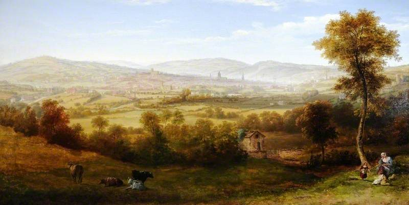 View of Sheffield from Meersbrook