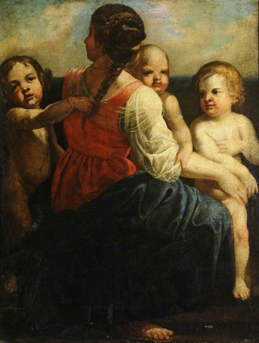 Mother and Three Children
