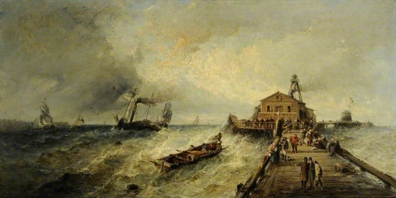 Shipping Making for a Harbour in a Rough Sea