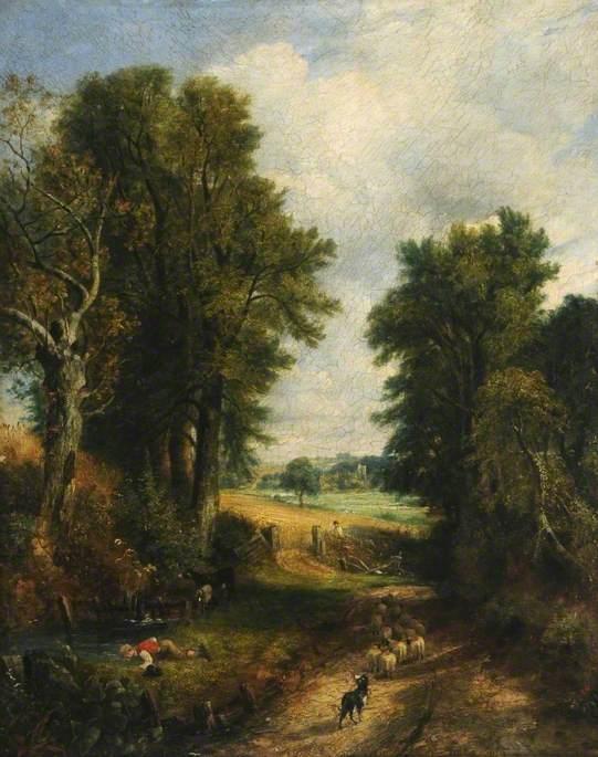Cornfield (Country Lane)