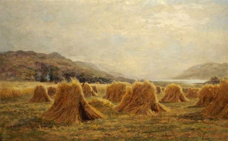 Harvest Time near St Fillans, Perthshire