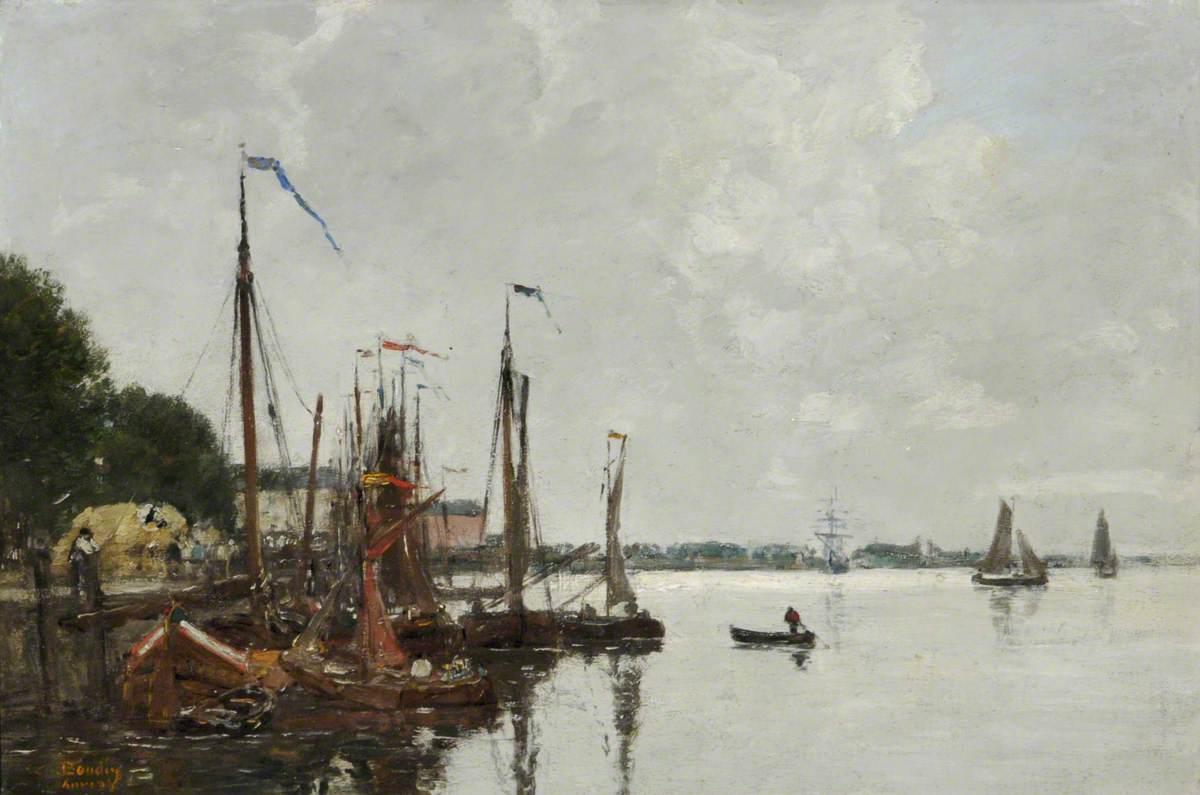 The Quay at Antwerp, Belgium