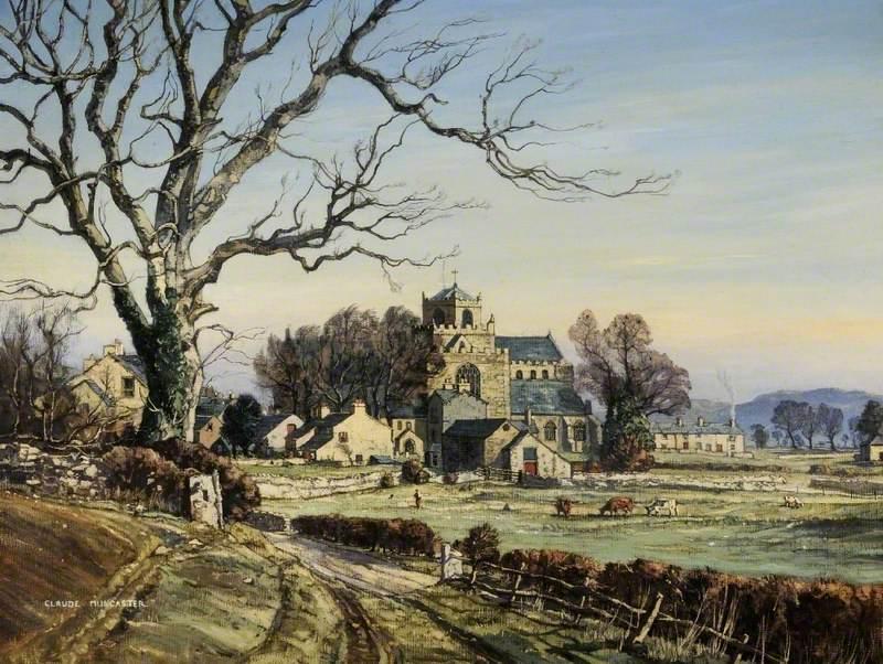 Winter's Morning, Cartmel Priory, Cumbria