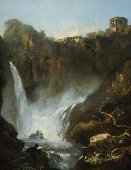 The Falls of Tivoli, Italy