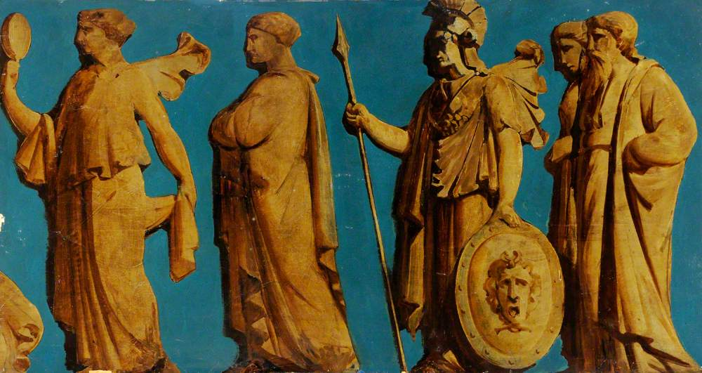 Frieze with Figures